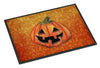 October Pumpkin Halloween Indoor or Outdoor Mat 24x36 Doormat - the-store.com