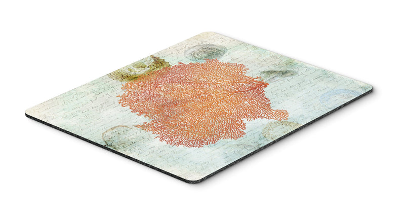 Coral Pink Mouse Pad, Hot Pad or Trivet - the-store.com