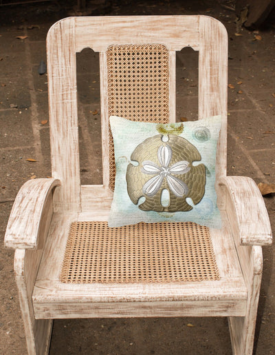 Sand Dollar    Canvas Fabric Decorative Pillow