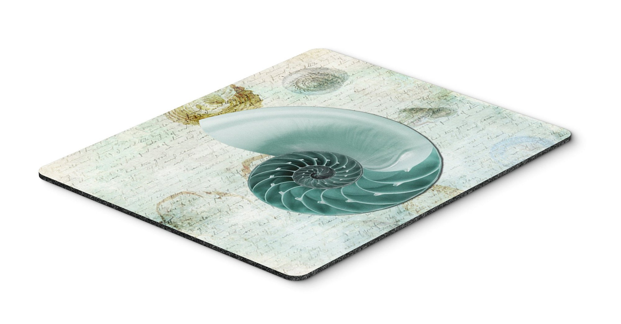 Shells  Mouse Pad, Hot Pad or Trivet by Caroline's Treasures
