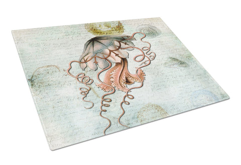 Buy this Jellyfish  Glass Cutting Board Large