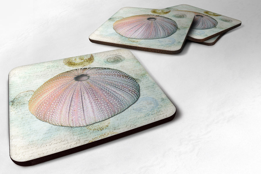 Buy this Set of 4 Anemone  Foam Coasters