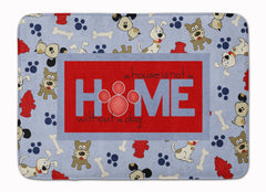 Buy this A House is not a home without a dog Machine Washable Memory Foam Mat SB3052RUG