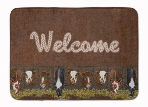 Buy this Welcome Mat with Cows Machine Washable Memory Foam Mat SB3058RUG