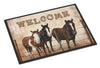 Welcome Mat with Horses Indoor or Outdoor Mat 24x36 SB3059JMAT - the-store.com