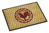 Rooster Chicken Coop Indoor or Outdoor Mat 24x36 SB3085JMAT - the-store.com