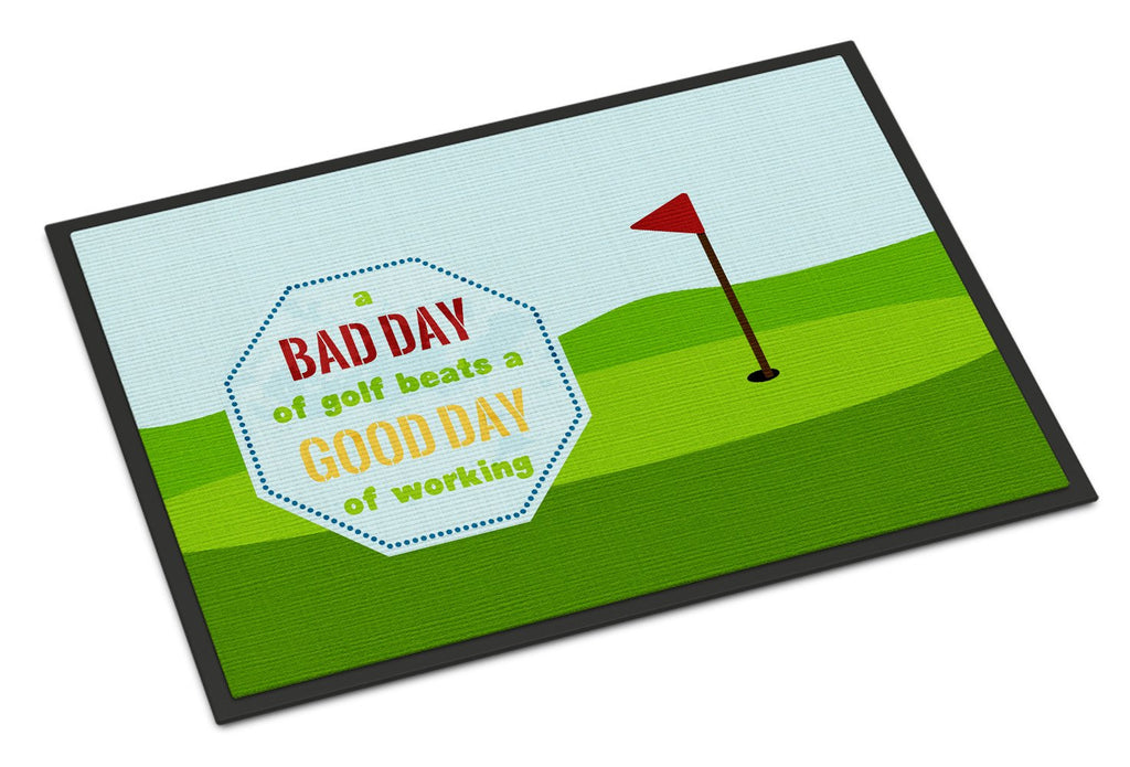 Buy this A Bad Day at Golf Indoor or Outdoor Mat 18x27 SB3091MAT
