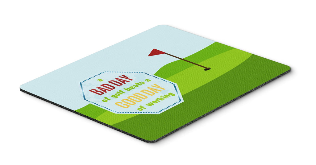 Buy this A Bad Day at Golf Mouse Pad, Hot Pad or Trivet SB3091MP