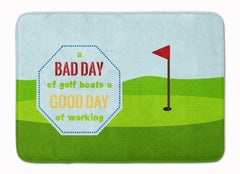Buy this A Bad Day at Golf Machine Washable Memory Foam Mat SB3091RUG