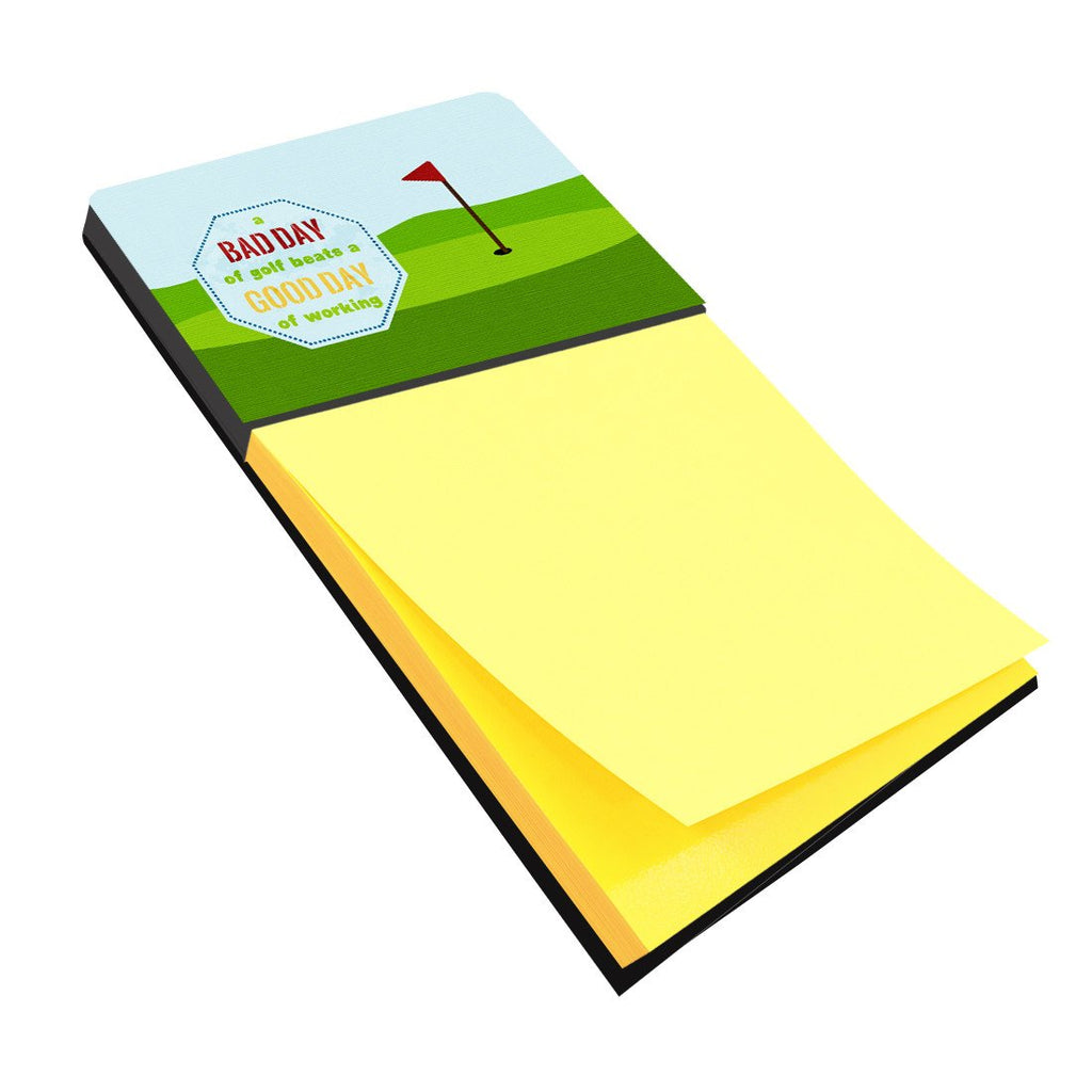 Buy this A Bad Day at Golf Refiillable Sticky Note Holder or Postit Note Dispenser SB3091SN