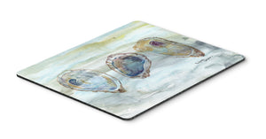 Buy this Oysters Watercolor Mouse Pad, Hot Pad or Trivet SC2001MP