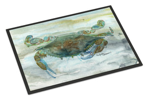 Buy this Crab a leg up Watercolor Indoor or Outdoor Mat 18x27 SC2002MAT