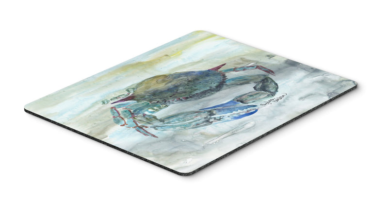 Buy this Blue Crab Watercolor Mouse Pad, Hot Pad or Trivet SC2003MP