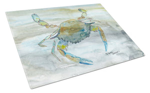 Buy this Blue Crab #2 Watercolor Glass Cutting Board Large SC2004LCB