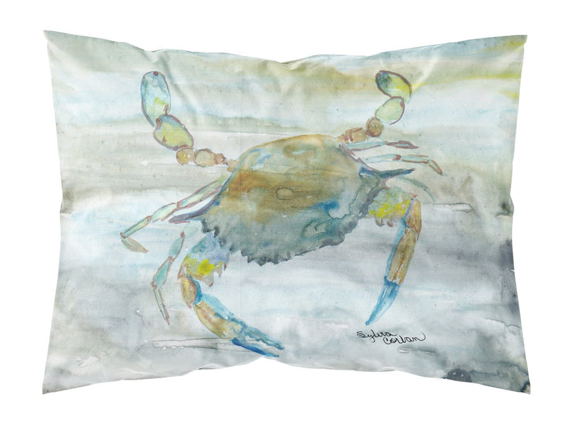 Buy this Blue Crab #2 Watercolor Fabric Standard Pillowcase SC2004PILLOWCASE