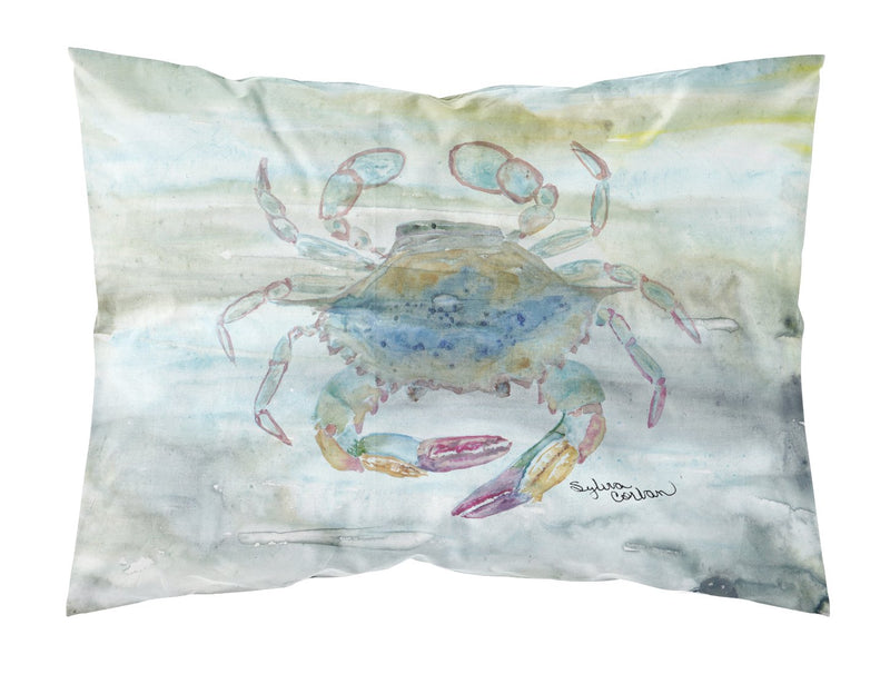 Buy this Female Blue Crab Watercolor Fabric Standard Pillowcase SC2005PILLOWCASE
