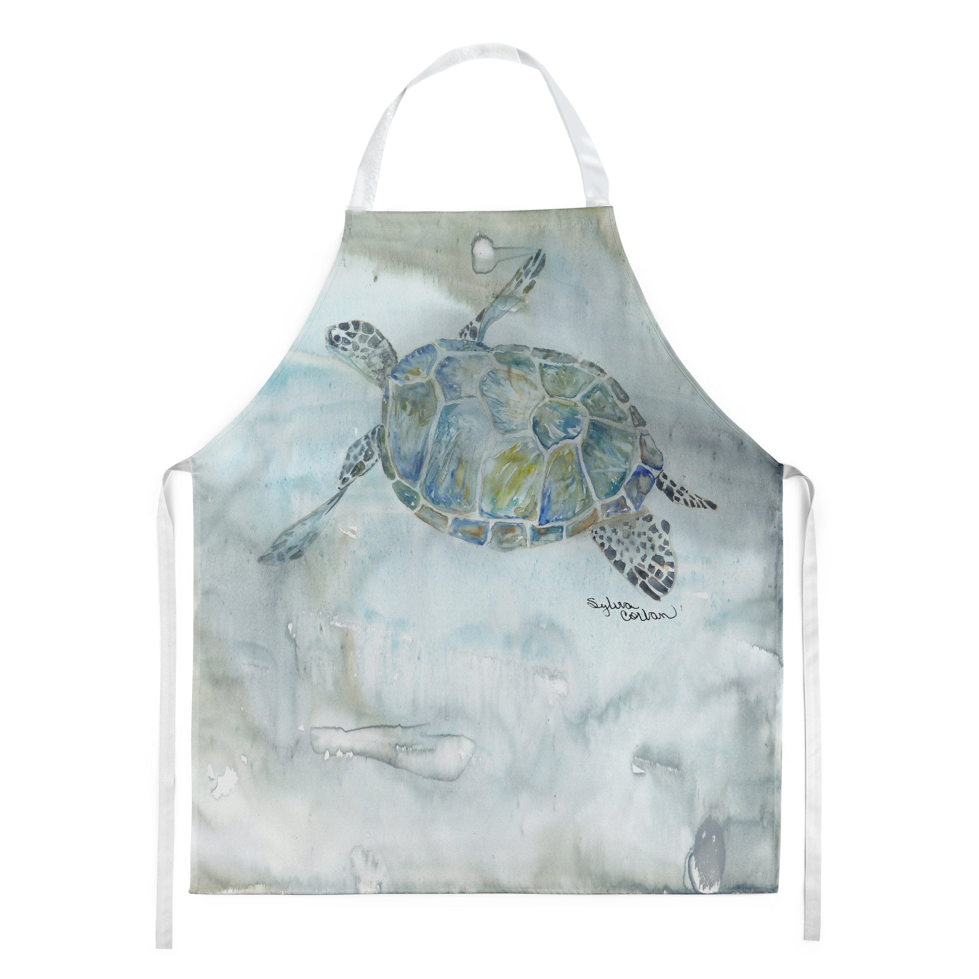 Buy this Sea Turtle Watercolor Apron SC2006APRON