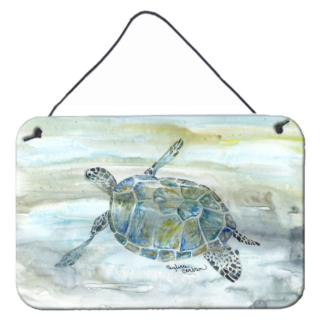Buy this Sea Turtle Watercolor Wall or Door Hanging Prints SC2006DS812