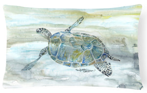 Buy this Sea Turtle Watercolor Canvas Fabric Decorative Pillow SC2006PW1216
