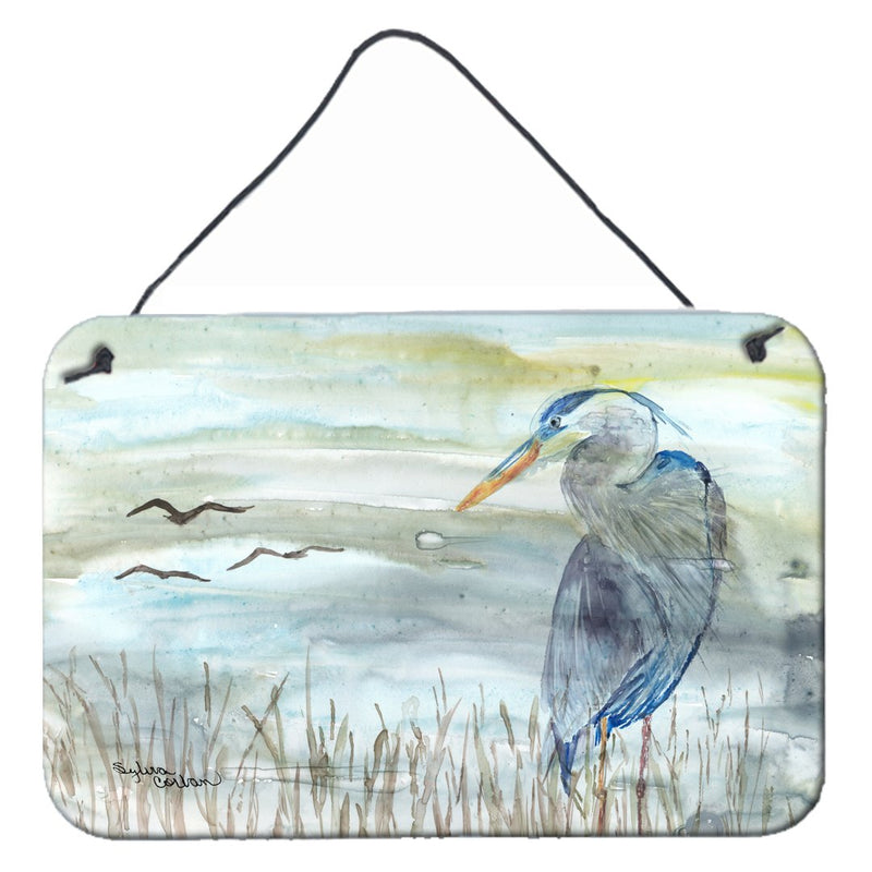 Buy this Blue Heron Watercolor Wall or Door Hanging Prints SC2007DS812