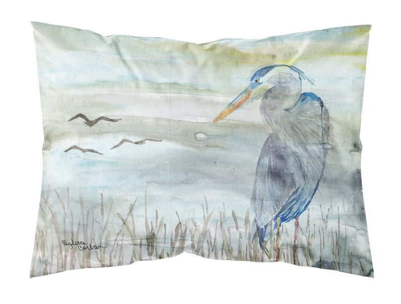 Buy this Blue Heron Watercolor Fabric Standard Pillowcase SC2007PILLOWCASE