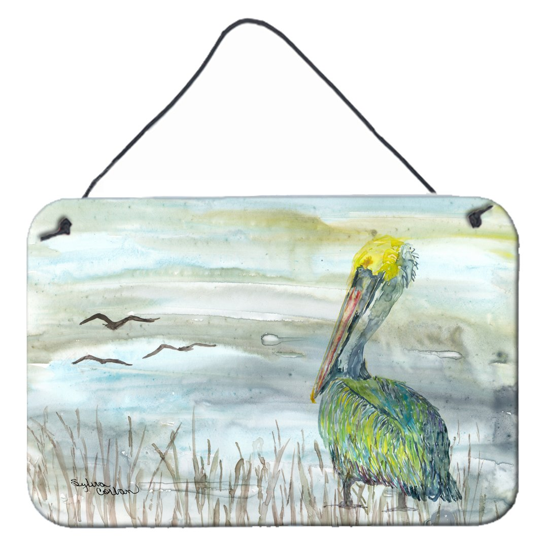 Buy this Pelican Watercolor Wall or Door Hanging Prints SC2008DS812
