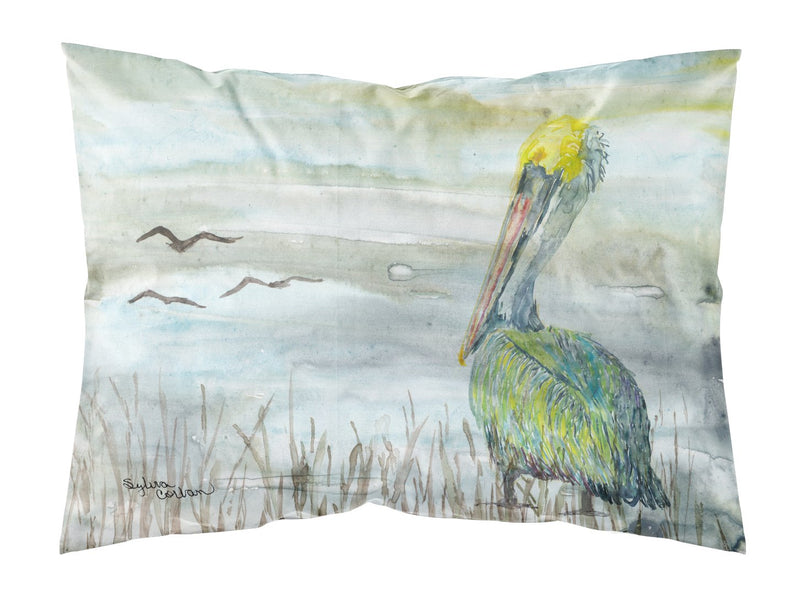 Buy this Pelican Watercolor Fabric Standard Pillowcase SC2008PILLOWCASE
