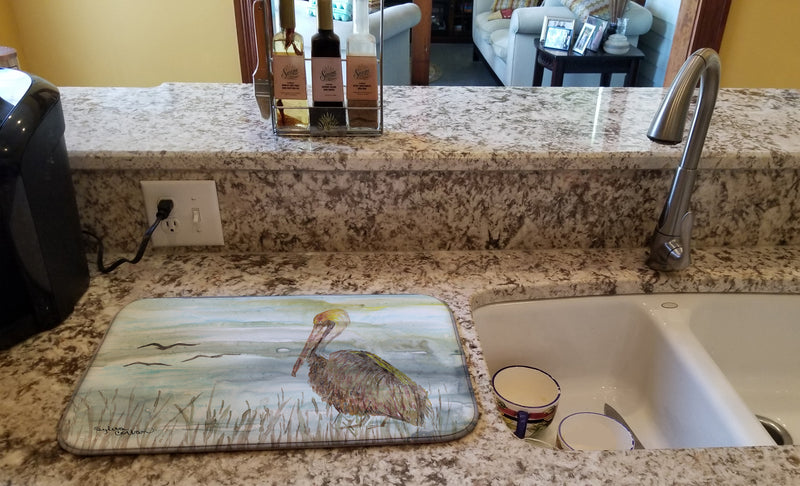 Buy this Brown Pelican Watercolor Dish Drying Mat SC2009DDM