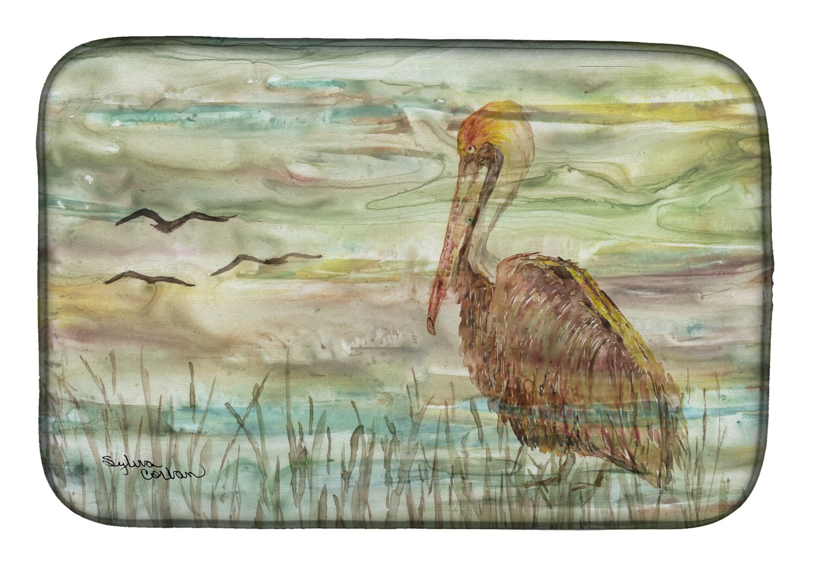 Buy this Brown Pelican Sunset Dish Drying Mat SC2011DDM