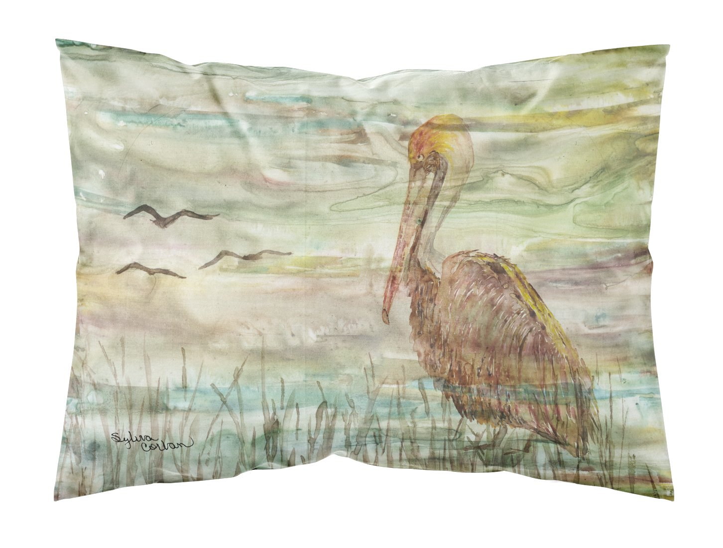 Buy this Brown Pelican Sunset Fabric Standard Pillowcase SC2011PILLOWCASE