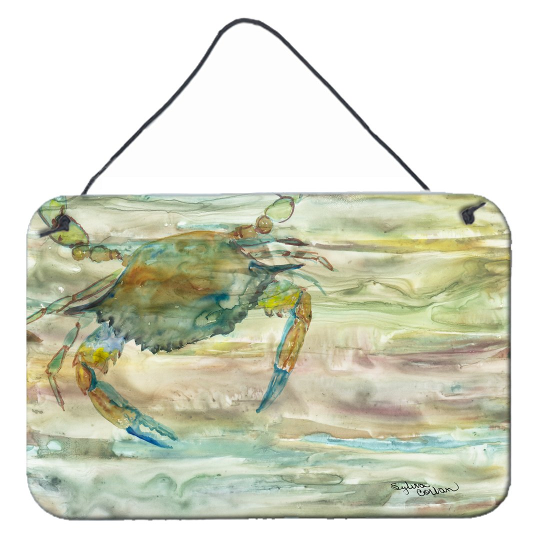 Blue Crab Sunset Wall or Door Hanging Prints SC2013DS812 by Caroline's Treasures