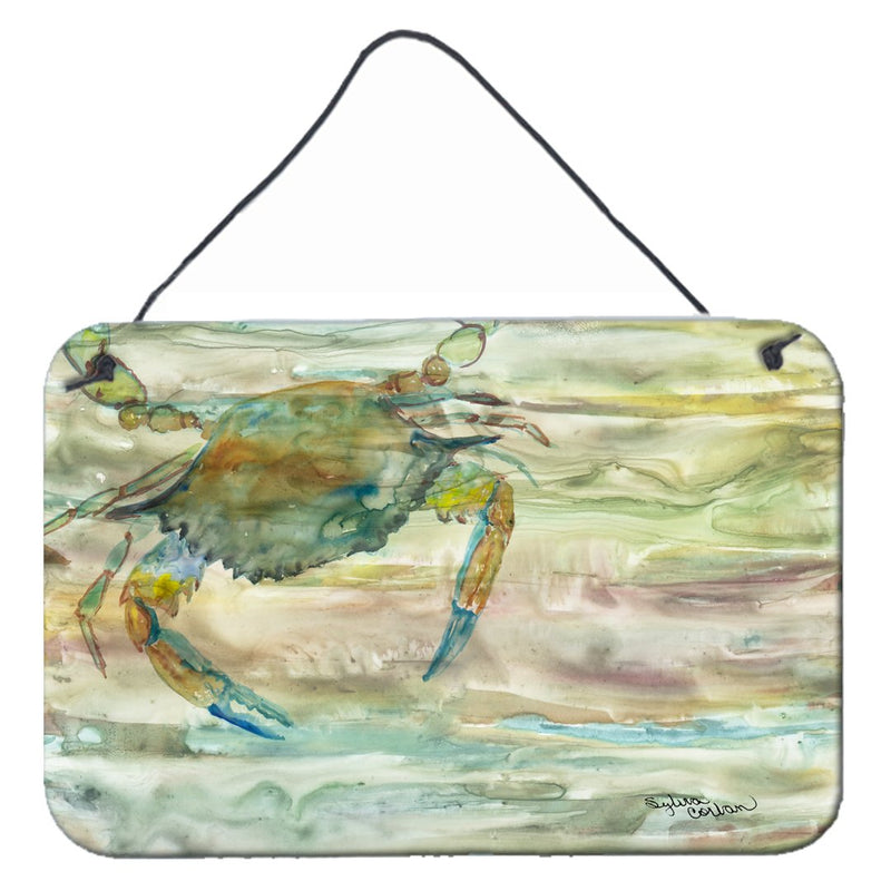 Buy this Blue Crab Sunset Wall or Door Hanging Prints SC2013DS812