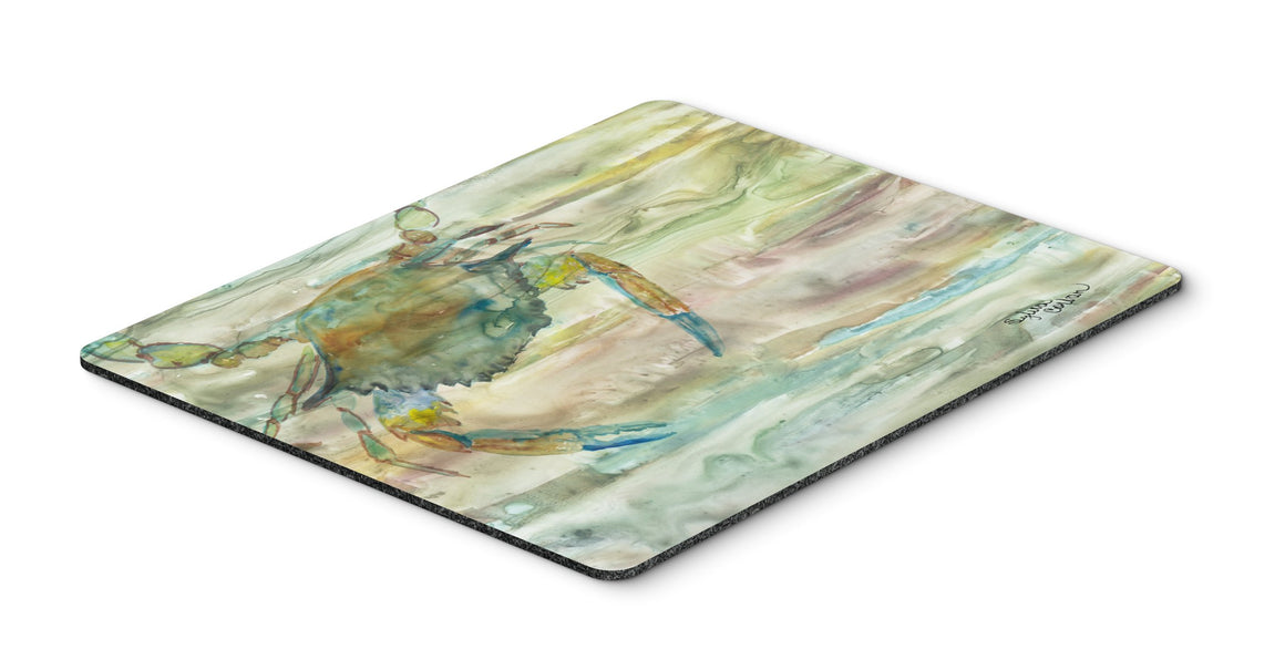 Buy this Blue Crab Sunset Mouse Pad, Hot Pad or Trivet SC2013MP