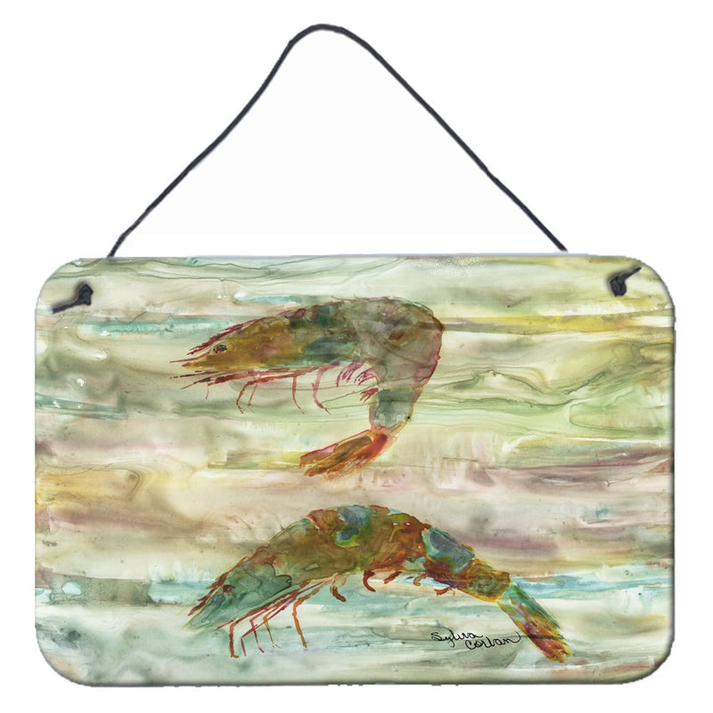 Buy this Shrimp Sunset Wall or Door Hanging Prints SC2014DS812