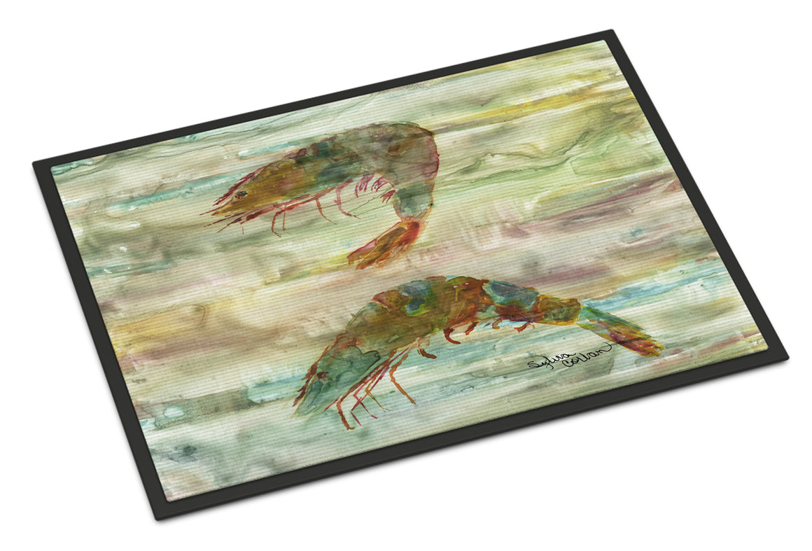 Buy this Shrimp Sunset Indoor or Outdoor Mat 18x27 SC2014MAT
