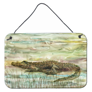 Buy this Alligator Sunset Wall or Door Hanging Prints SC2016DS812