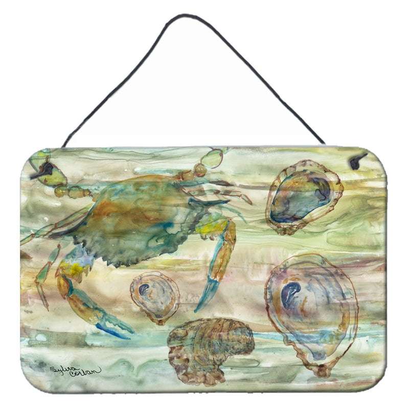 Buy this Crab, Shrimp and Oyster Sunset Wall or Door Hanging Prints SC2017DS812