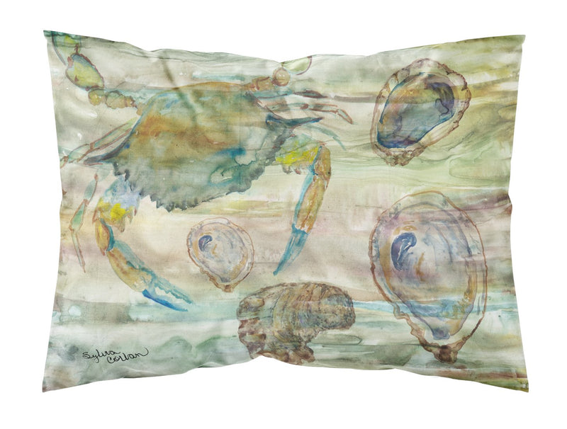 Buy this Crab, Shrimp and Oyster Sunset Fabric Standard Pillowcase SC2017PILLOWCASE