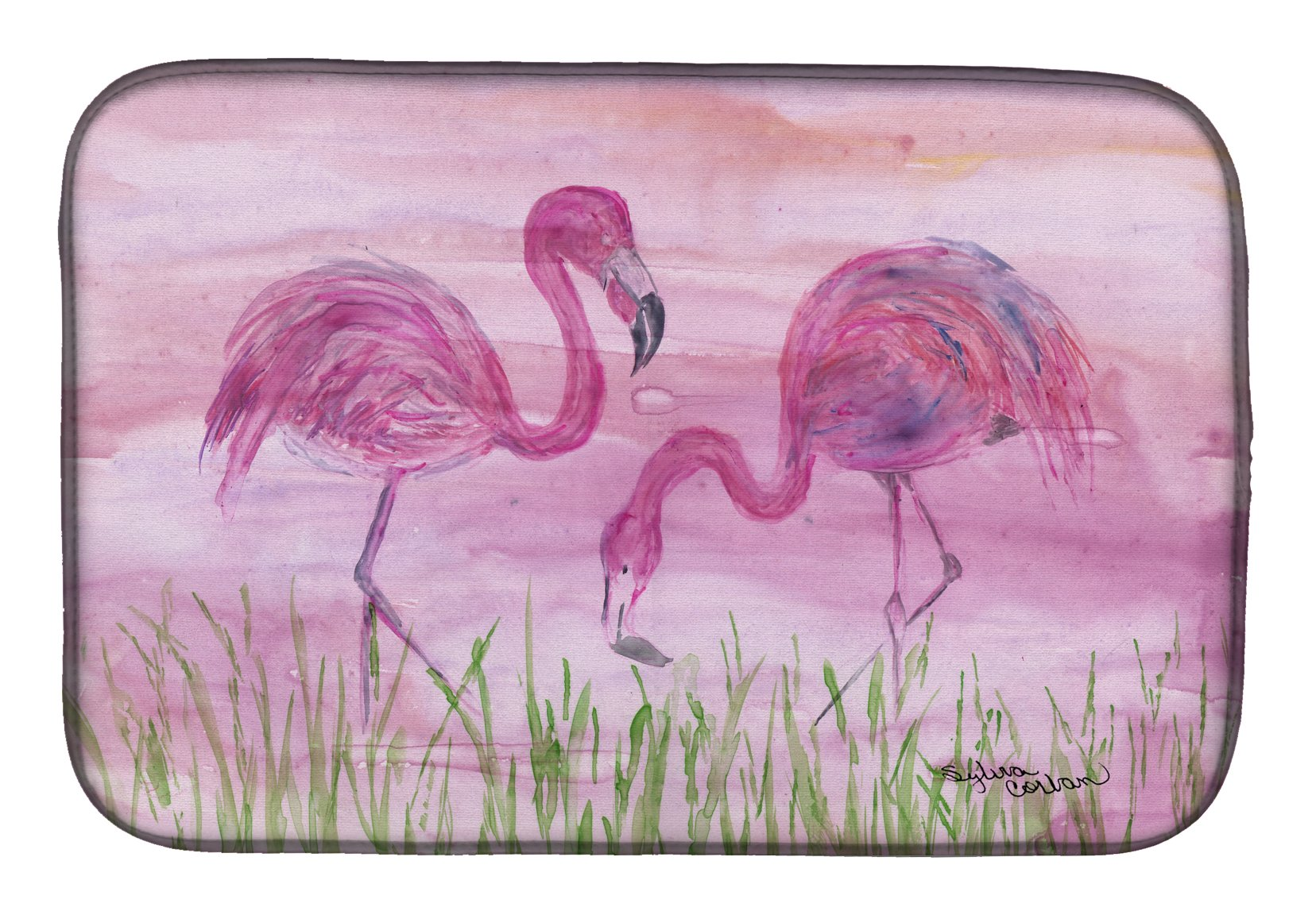 Buy this Flamingos Dish Drying Mat SC2018DDM