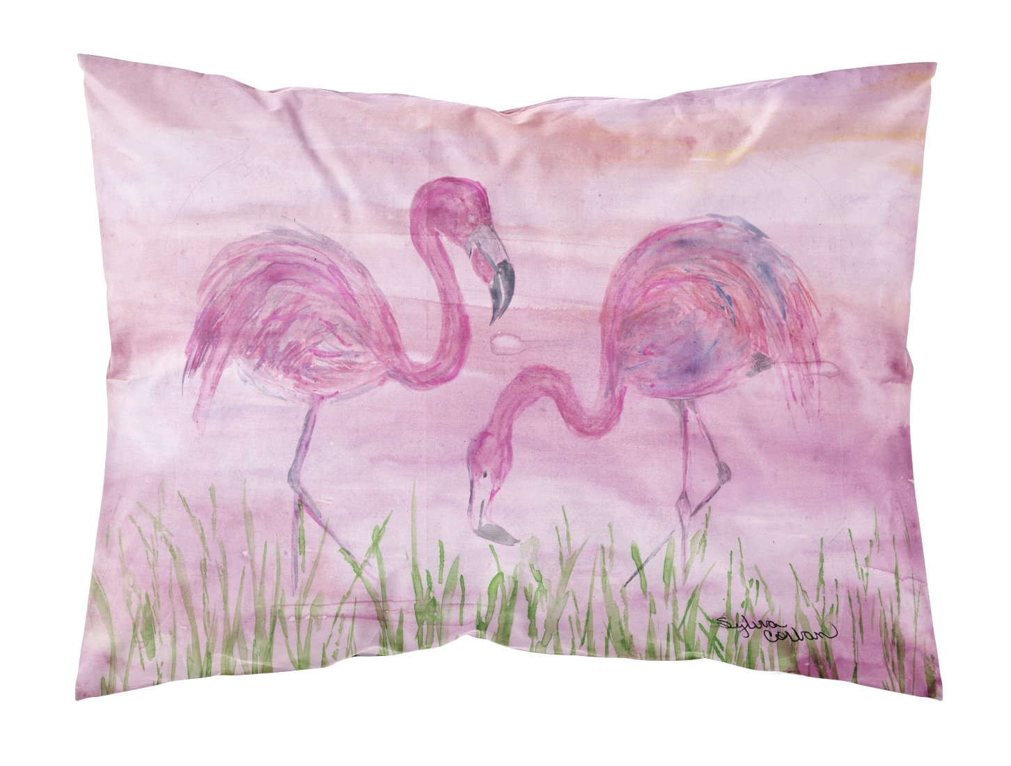 Buy this Flamingos Fabric Standard Pillowcase SC2018PILLOWCASE