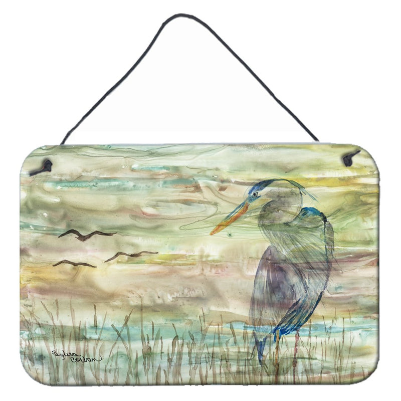 Buy this Blue Heron Sunset Wall or Door Hanging Prints SC2019DS812