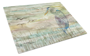 Buy this Blue Heron Sunset Glass Cutting Board Large SC2019LCB