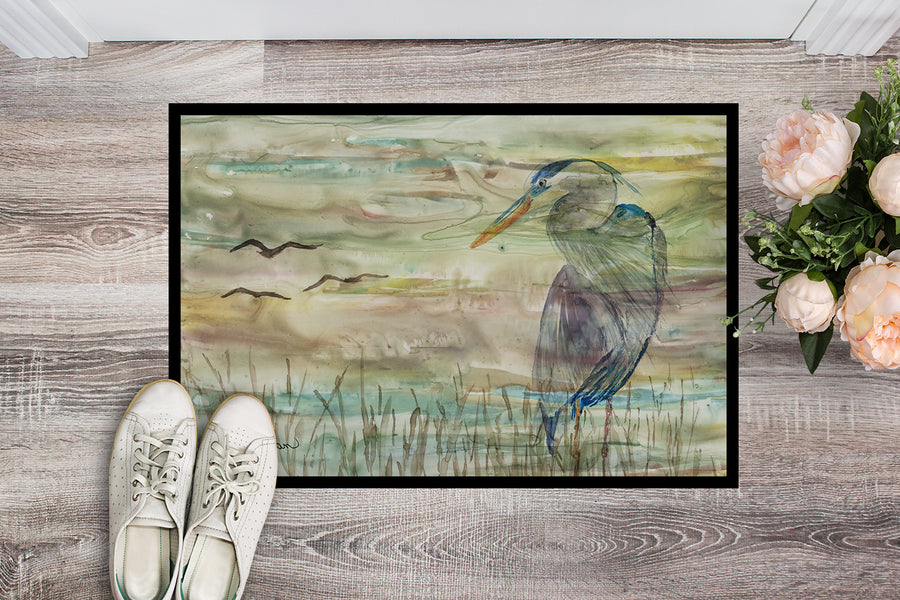 Buy this Blue Heron Sunset Indoor or Outdoor Mat 18x27 SC2019MAT