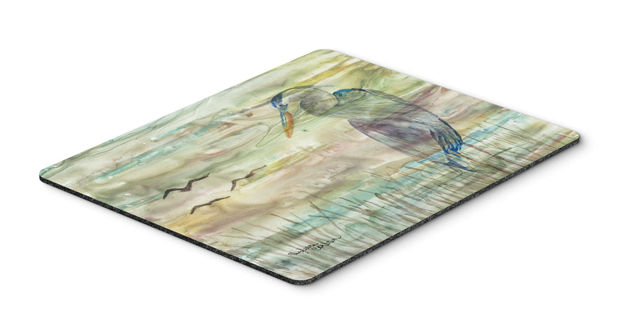 Buy this Blue Heron Sunset Mouse Pad, Hot Pad or Trivet SC2019MP
