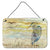 Buy this Blue Heron Yellow Sky Wall or Door Hanging Prints SC2020DS812
