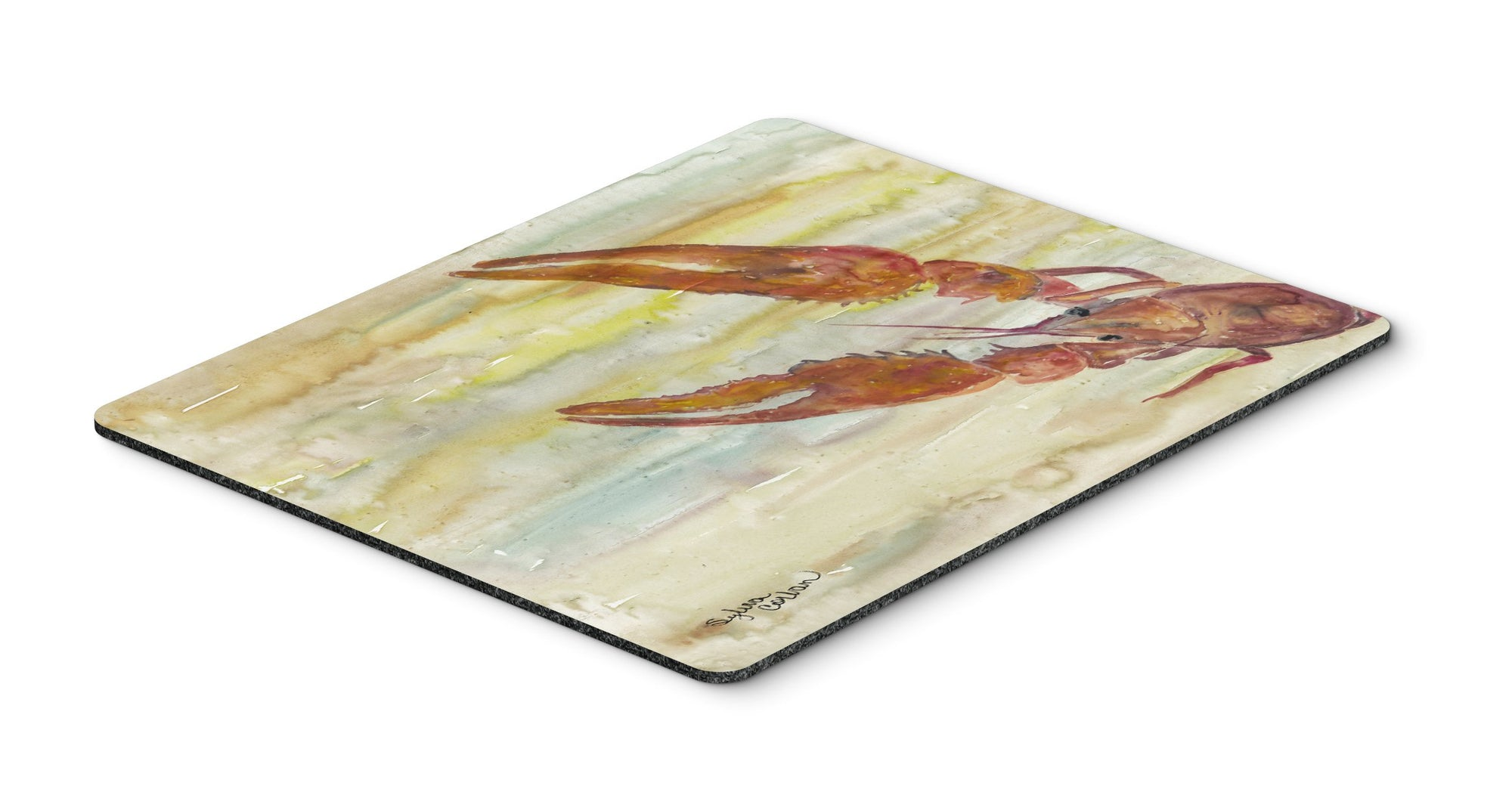 Buy this Crawfish Yellow Sky Mouse Pad, Hot Pad or Trivet SC2021MP