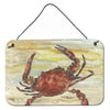 Buy this Cooked Crab Yellow Sky Wall or Door Hanging Prints SC2022DS812