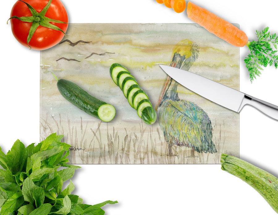 Buy this Pelican Yellow Sky Glass Cutting Board Large SC2024LCB