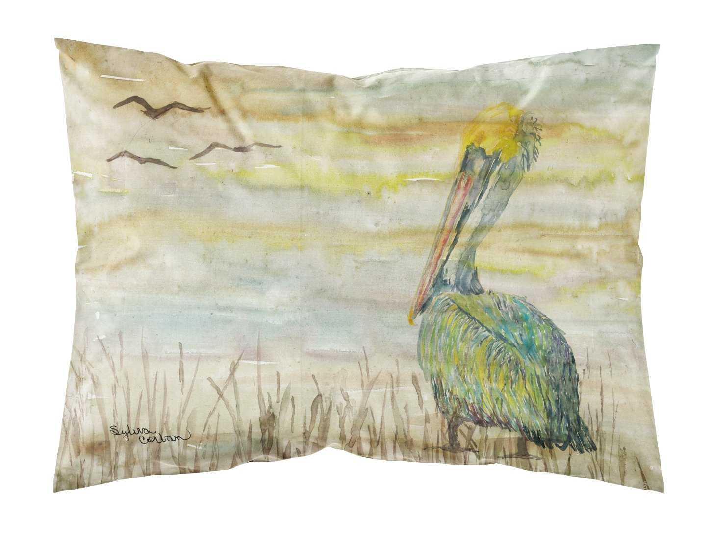 Buy this Pelican Yellow Sky Fabric Standard Pillowcase SC2024PILLOWCASE