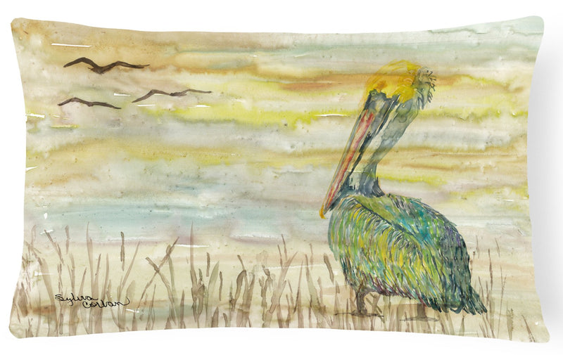 Buy this Pelican Yellow Sky Canvas Fabric Decorative Pillow SC2024PW1216